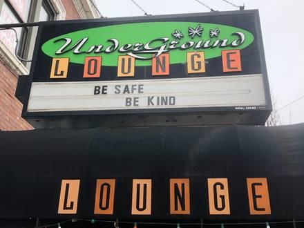 Underground Lounge best greek in chicago;