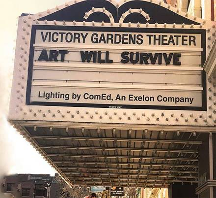 Victory Gardens Biograph Theater best greek in chicago;