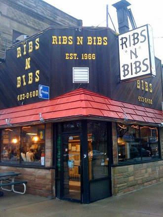 Ribs N Bibs best french bistro chicago;
