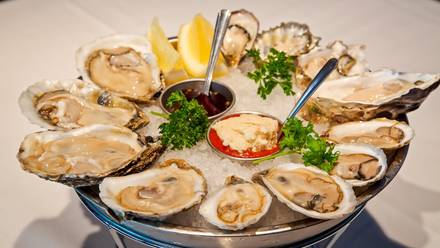 Chicago Oyster House Top 10 Steakhouse;