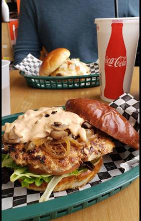 The Burger Point best greek in chicago;