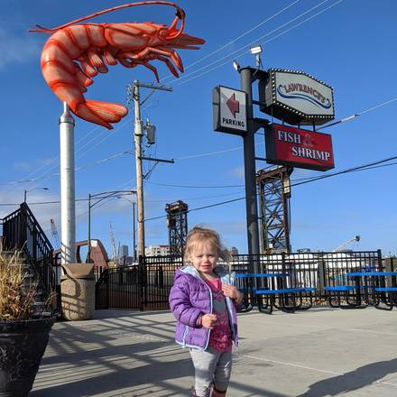 Lawrence's Fisheries best chicago rooftop restaurants;