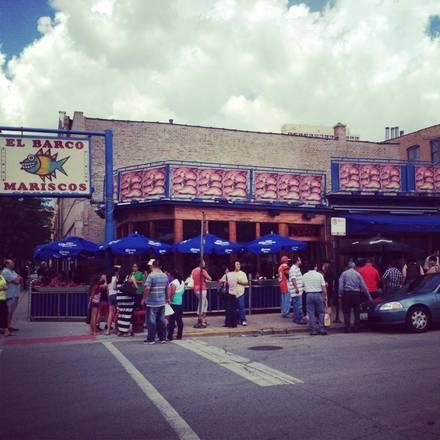 El Barco best chicago rooftop restaurants;