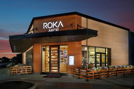 Roka Akor Old Orchard Top 10 Steakhouse;
