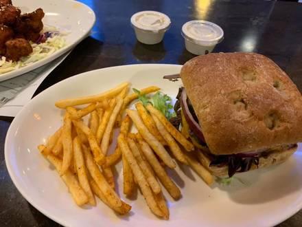 Native Foods Cafe best greek in chicago;