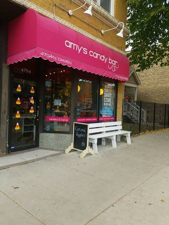 Amy's Candy Bar best chicago rooftop restaurants;