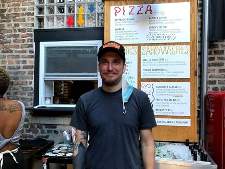 Pizza Friendly Pizza best comfort food chicago;