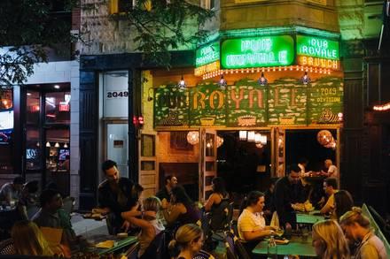Pub Royale best italian restaurant in chicago;
