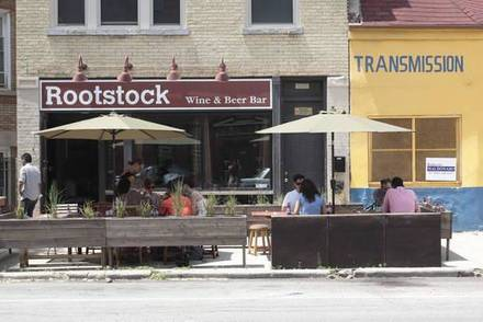 Rootstock Wine and Beer Bar best french bistro chicago;