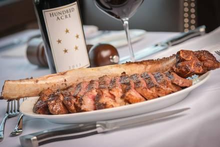 Dominick's Steakhouse USDA Prime Steaks;