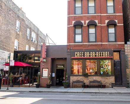 Café Ba-Ba-Reeba best fried chicken in chicago;