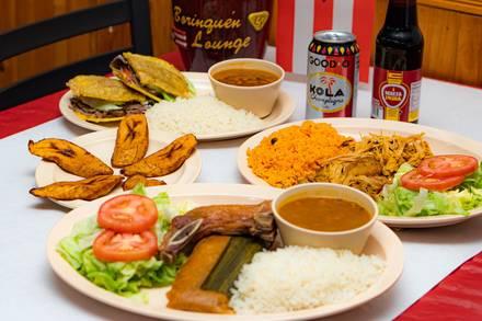 Borinquen Lounge best fried chicken in chicago;