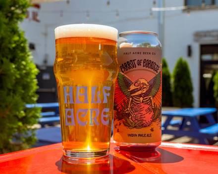Half Acre Beer Company best chicago rooftop restaurants;