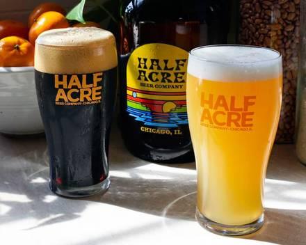 Half Acre Beer Company best greek in chicago;