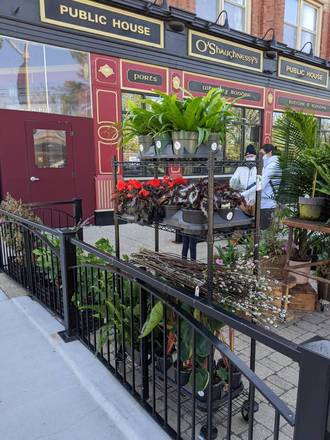 O'Shaughnessy's Public House best chicago rooftop restaurants;