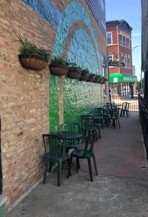 Green Eye Lounge best greek in chicago;