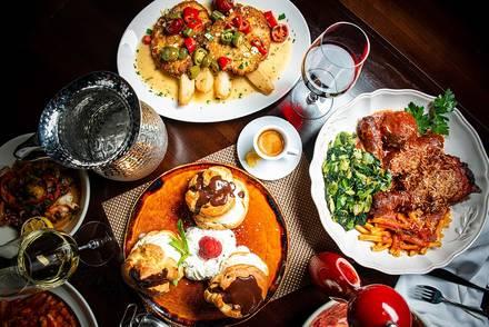 Rosebud Italian Specialties & Pizzeria best greek in chicago;