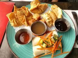 Thai Lagoon best fried chicken in chicago;