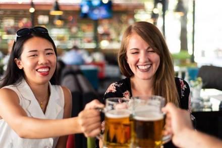 Brehon Pub best greek in chicago;