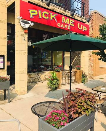 Pick Me Up Cafe best greek in chicago;