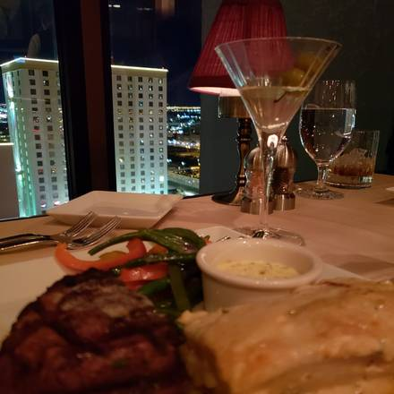 Top of Binion's Steakhouse Great Steakhouses;