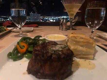 Top of Binion's Steakhouse Top 10 Steakhouse;