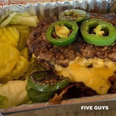 Five Guys best comfort food chicago;