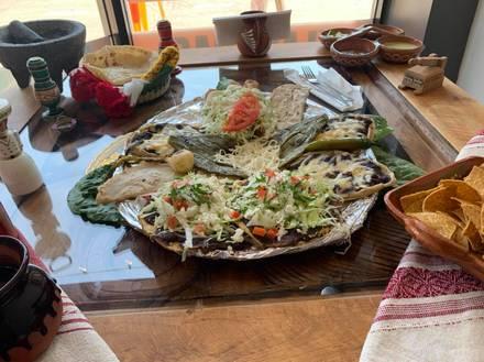 Tlayudas Oaxaca Grill best comfort food chicago;