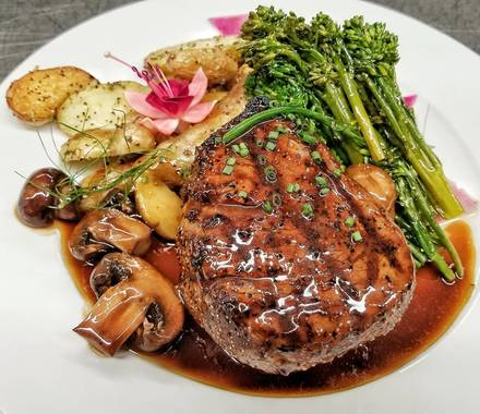 The Steakhouse at 9900 USDA Prime Steaks;