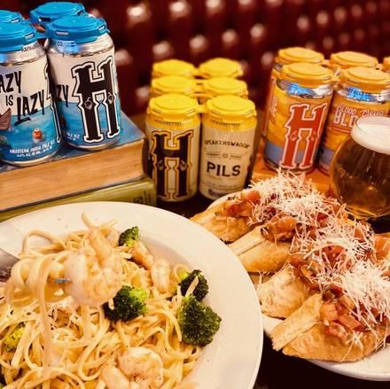 Haymarket Pub & Brewery best chicago rooftop restaurants;