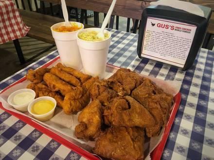 Gus's Fried Chicken best fried chicken in chicago;
