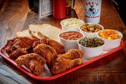 Gus's Fried Chicken best greek in chicago;