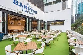 The Hampton Social best ramen in chicago;