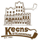 Keens Steakhouse logo